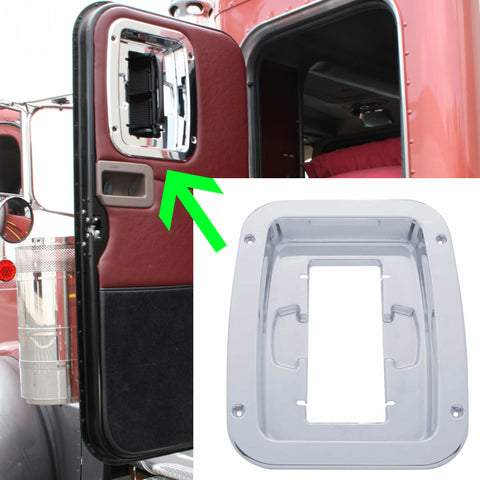 Peterbilt 379 chrome plastic interior Unibilt sleeper vent trim