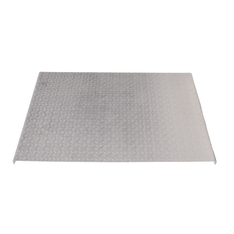 Diamond plate aluminum deck plate/catwalk cover - 2 Feet Long