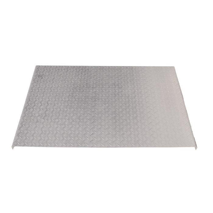 Diamond plate aluminum deck plate/catwalk cover - 4 Feet Long
