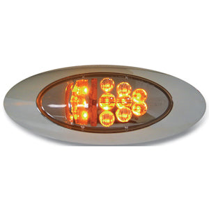 Spyder Amber y2k LED turn signal light - CLEAR lens
