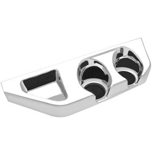 Freightliner Century/Columbia chrome plastic center cupholder panel