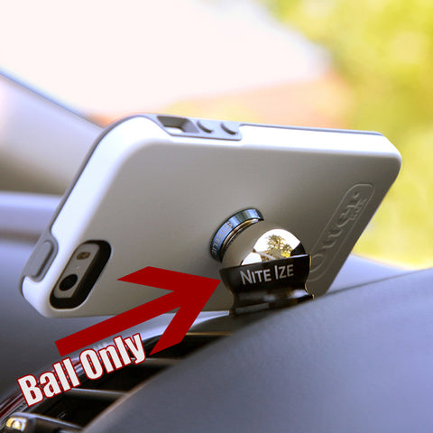 """Steelie"" universal cell phone dashboard holder ball component ONLY"