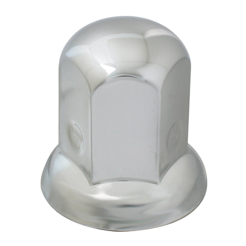 30mm chrome steel push-on style lug nut cover