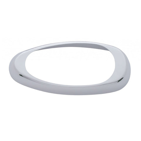 Freightliner chrome plastic bezel for sleeper turn signals