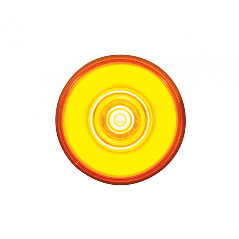 """Halo"" Amber 2"" round 6 diode LED marker light"