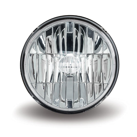 "7"" Diameter single round 4 diode LED headlight - SINGLE"