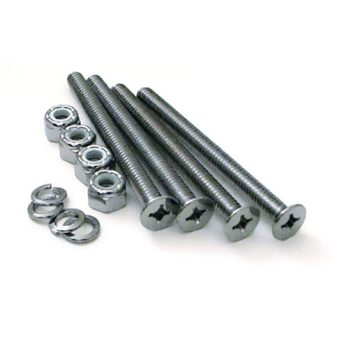 "1/4"" diameter x 3"" (L) chrome screw set for train horn valve"