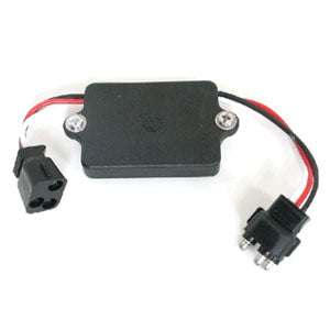 LED turn signal flasher conversion harness w/resistor