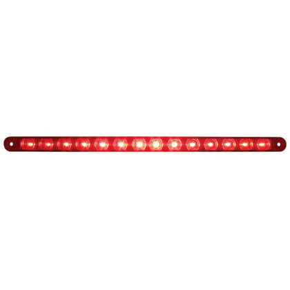 "Red thin 12"" long LED stop/turn/tail light bar"