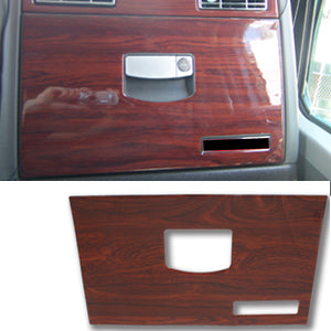 Kenworth W900/T660 2006+ plastic wood look glove box cover