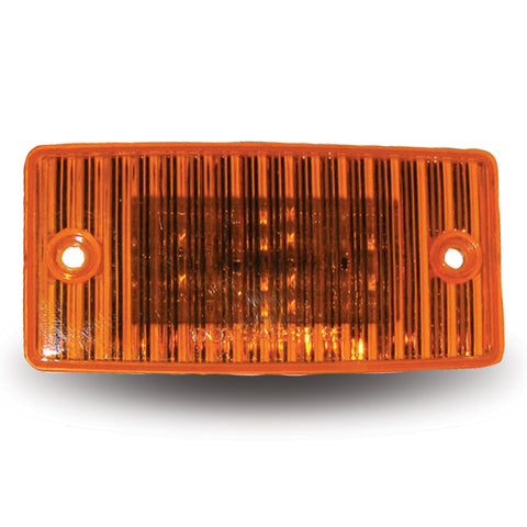 Amber 20 diode LED marker light for Freightliner visors