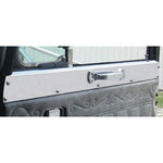 Peterbilt 359 stainless steel upper door window sill trim - PAIR