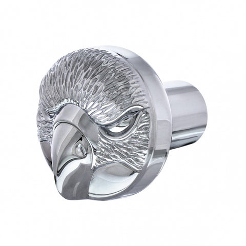 """Eagle"" chrome aluminum threaded tractor/trailer air brake knob - SINGLE"