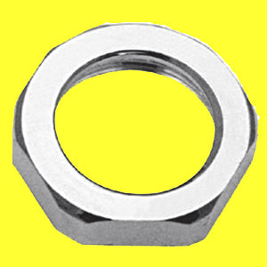 Freightliner Classic/FLD chrome face nut, engine override