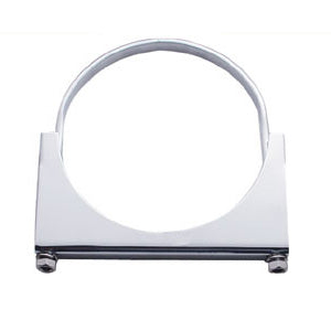 "Stainless steel 5"" diameter u-bolt exhaust mounting clamp"