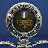 Motometer replica with wings chrome hood ornament - Large