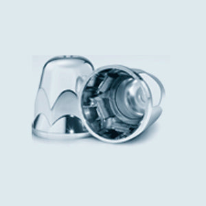 Alcoa 33mm chrome plastic push-on style hex lugnut cover