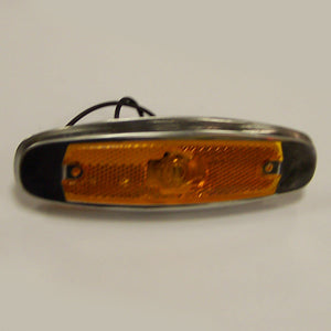 Amber incandescent Peterbilt-style marker light