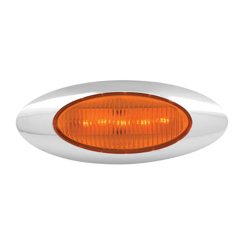 Amber incandescent plug-in Y2K marker light