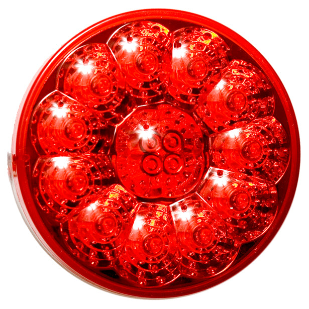 "American Superlite red 4"" round 15 diode LED stop/turn/tail light"