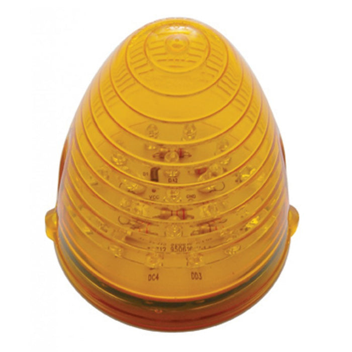 Amber 19 diode beehive LED cab light for Grakon 1000