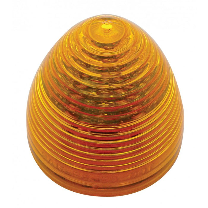 "Amber 2"" beehive 9 diode LED marker/clearance light"