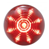 "Red 2"" beehive 9 diode LED marker/clearance light"