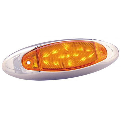 """Infinity"" Amber 13 diode LED marker/clearance light"