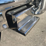 "Peterbilt 31"" stainless steel tool box step cover ONLY"