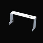 Stainless steel CB radio mounting bracket - Cobra 148, Connex, Galaxy, Uniden Grant - extended