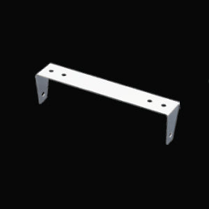Stainless steel CB radio mounting bracket for Cobra 29, Uniden 76 and 78 - standard