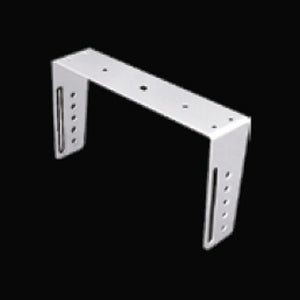 Stainless steel CB radio mounting bracket for Cobra 29, Uniden 76 and 78 - heavy duty