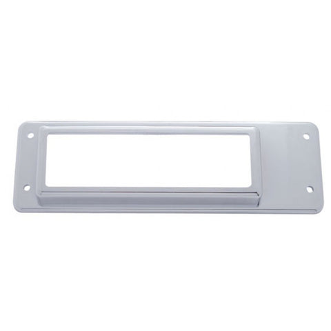 International chrome plastic CB radio bezel