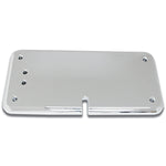 Peterbilt -2005 chrome plastic CB radio headliner mounting plate