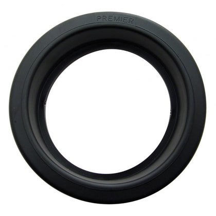"4"" round Black rubber light mounting grommet"
