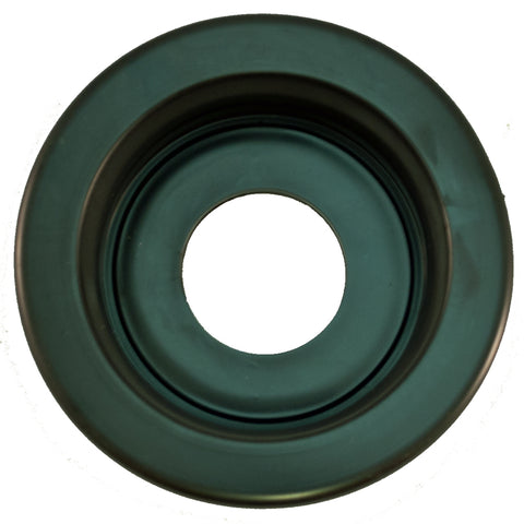 "2.5"" round Black rubber light mounting grommet"