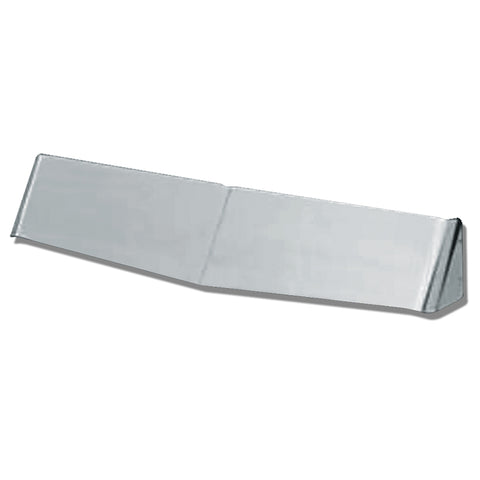 """Gangster"" stainless steel rear sleeper window visor"