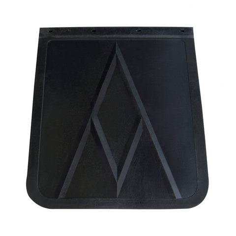 "24"" x 30"" black rubber mud flap - SINGLE"