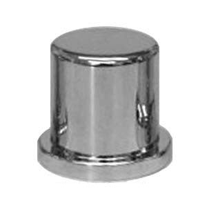 30mm chrome plastic push-on huck rivet/lug nut cover