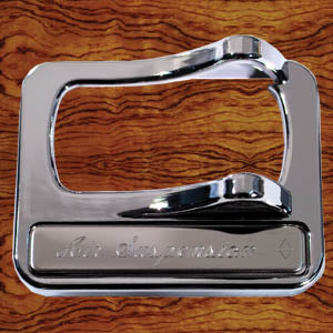 Rockwood Peterbilt 2001+ chrome plastic switch guard