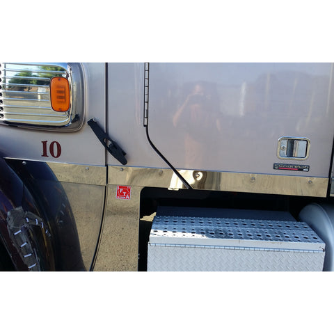 Freightliner Coronado stainless steel cab and sleeper kit panel COVERS