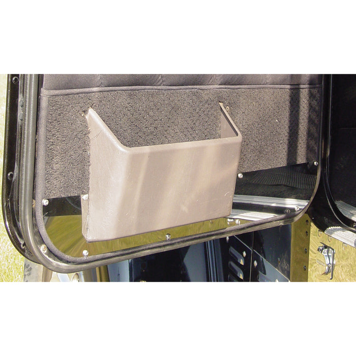 Freightliner Classic/FLD stainless steel interior lower door trims - PAIR