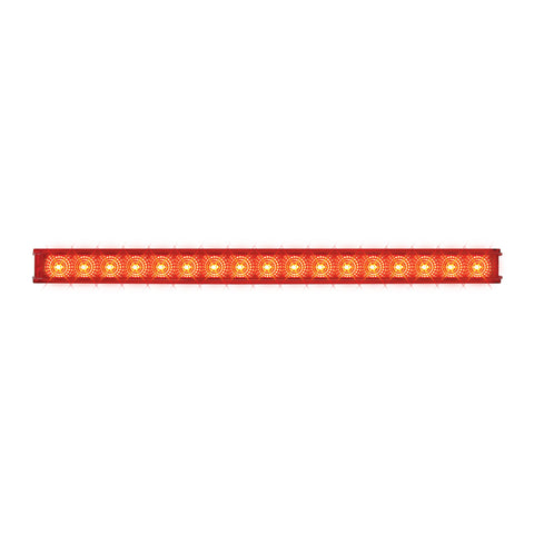 "Spyder 20"" Red 17 diode LED turn signal light bar"