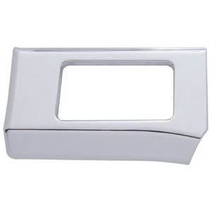 Freightliner Century/Columbia chrome plastic driver's side lower dash insert