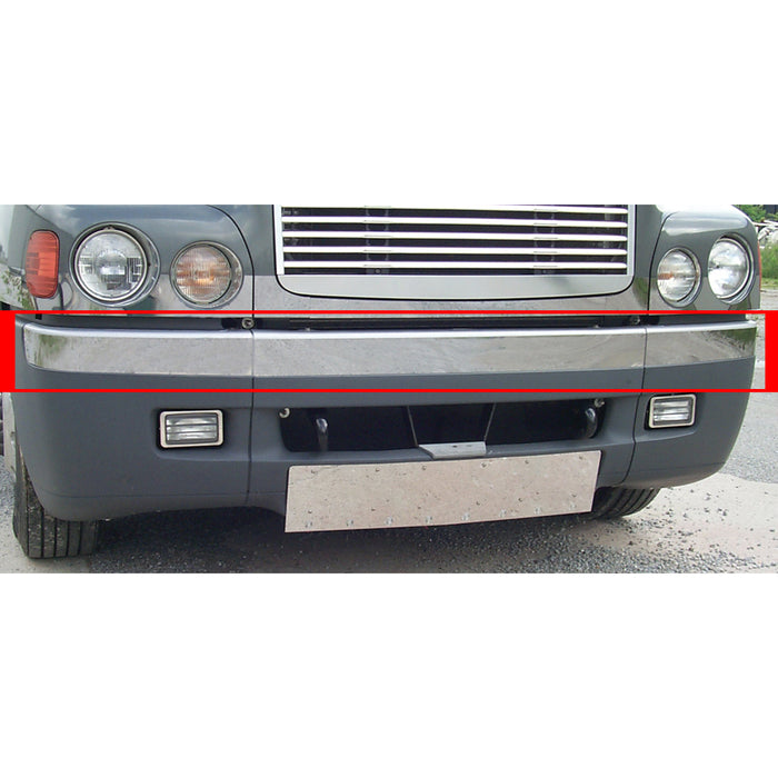 Freightliner Century -2003 stainless steel bumper trim - 3 piece kit