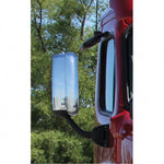 Freightliner Cascadia 2008-2017 chrome plastic back for Aero mirror - SINGLE