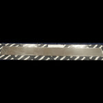 International stainless steel door sill trim - PAIR