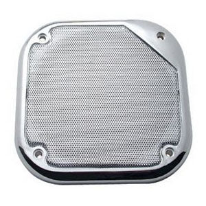 Kenworth 2002-2005 chrome sleeper radio speaker cover - PAIR