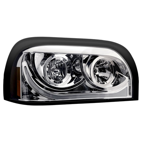"Freightliner Century ""Lexus Look"" headlight assembly w/LED running light/turn signal - Passenger's Side"