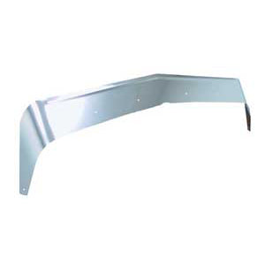 Kenworth W900B stainless steel bug deflector